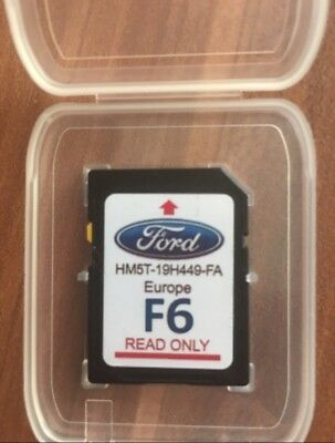 Ford Focus,kuga,s-Max,c-Max,mondeo,edge,transit 2017-2018  Navigation Sd Card