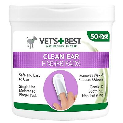 Vet's Best Ear Cleaning Pads for Dogs - 50 Pads