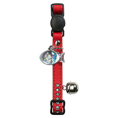 Hunter Smart Collier pour Chats Moderne Art luxe rouge, NEUF