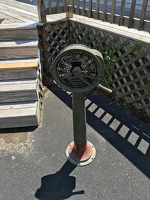 Vintage (REAL, NOT a REPRODUCTION) Ship's Engine Telegraph by A. Robinson & Co.