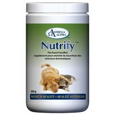 Nutrify 300g - Omega Alpha Pharmaceuticals, Pet Food Fortifier