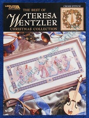 Cross Stitch Pattern Teresa Wentzler Christmas Collection Angel Wreath Nativity