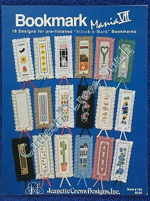 Cross Stitch Pattern Bookmark Mania VII 18 Designs