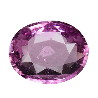 1.125 Cts  Prosperous Top! Luster Pink Natural Sapphire Oval Gemstones