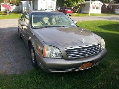 2003 Cadillac DeVille Base 2003 Cadillac Deville for repair or parts