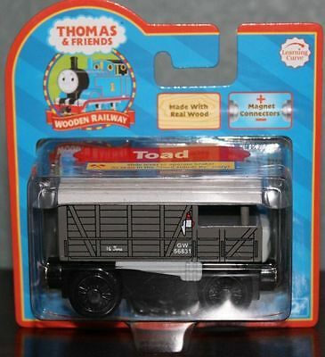 Thomas The Tank & Friends-Wooden Toad Brake Van 2006 Collector Card **new Box**