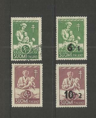 Finland ~ 1946-47 Anti Tb Tuberculosis Fund (O/p) Sets