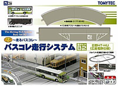 Tomytec Moving Bus System Basic Set B2 1/150 N scale Japan