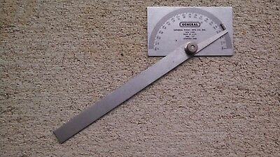 General Tools 17 Square Head Metal Protractor