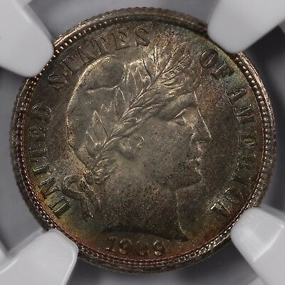 1909 10c Barber Dime NGC MS 65 CAC