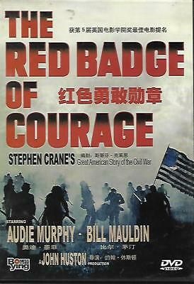 The Red Badge of Courage DVD Audie Murphy Bill Mauldin NEW 1951 War
