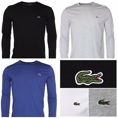 Lacoste Crew Neck Long sleeve t shirt