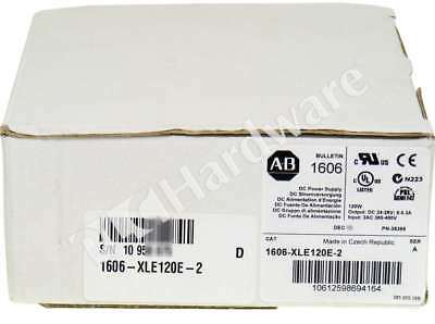 New Allen Bradley 1606-XLE120E-2 /A Essential Power Supply 24-28V 120W 380-480V