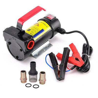 DC 12V 10GPM 175W Electric Diesel Oil And Fuel Transfer Extractor Pump Motor