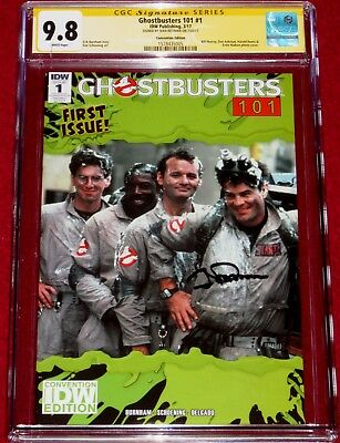 CGC SS 2017 SDCC Exclusive Ghostbusters 101 # 1 signed by IVAN REITMAN!!!