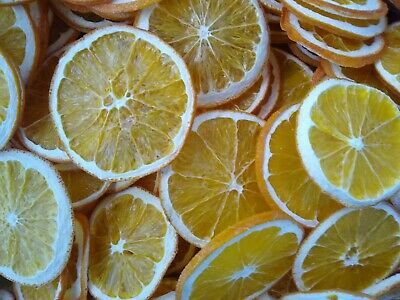 Primitive Home Decor 20 Freshly Dried Orange Slices Bowl Canning