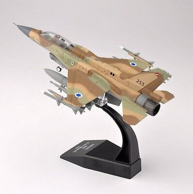 1/72th ISRAEL 2015 F-16I Block-52 Airplane Aircraft Display Fighter Plane Model