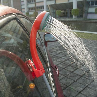 Fantastic Portable 12V Handheld Outdoor Shower With Water Pump For Car Washing