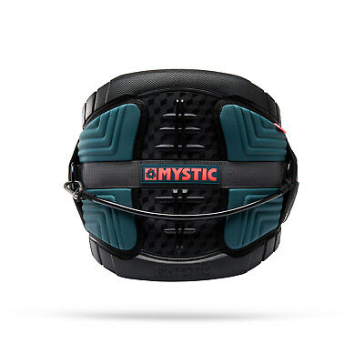Mystic Legend Kitesurf Harness 2018 - Teal / Red