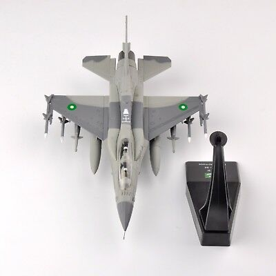 1/72 Scale F-16 Fighting Falcon Block 52 Air Force Airplane Aircraft Alloy Toy