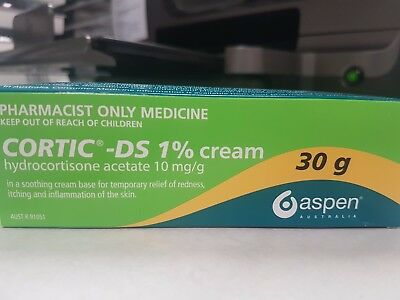 CORTIC -DS 1% cream 30g HYDROCORTISONE ACETATE 10mg/g: SOOTHING RELIEF FOR SKIN