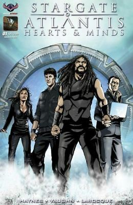 Stargate Atlantis Hearts & Minds #1 Cover A VF+ 2017 American Comic Vault 35