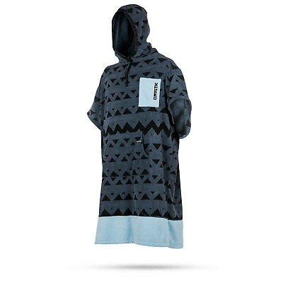 Mystic ALLOVER Print Poncho / Fleece / Changing Robe 2018 - Pewter