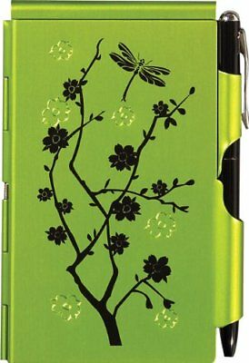 Wellspring Flip Note Natural Elements Lime Blossoms 2232