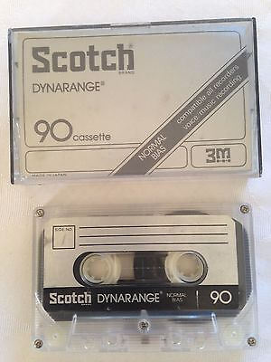 Scotch Dynarange 90 Minute Cassette used
