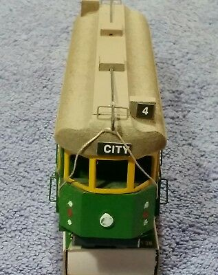 Melbourne Tram W2 Class hand made by George Kob in Melbourne