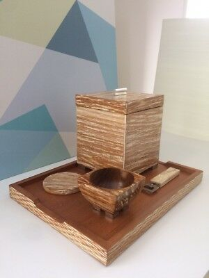 Modern Wooden Ice bucket Set as Birthday Party Gift Ideas for Dad and Men