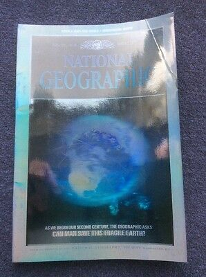 national geographic magazine. december 1988 Hologram cover