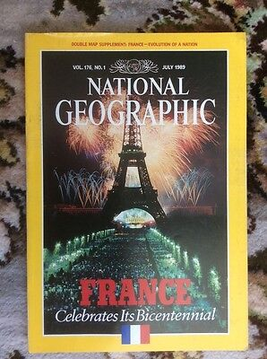 National Geographic magazine. July 1989
