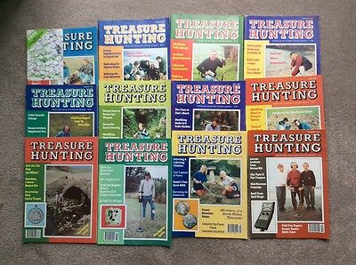 metal detecting magazines. Treasure Hunting. 1995