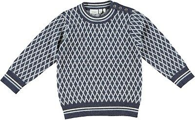 name it Mini Jungen Strickpullover, Pullover Whoopi in dress blues