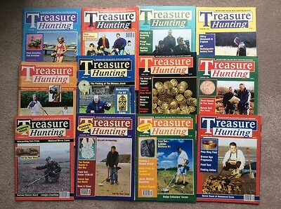 Metal detecting magazines. Treasure Hunting. 1999