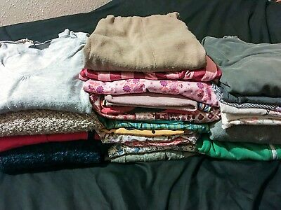 Bundle of vintage dresses, jumpers, tops, bags size 12 Zara, Dorothy Perkins etc