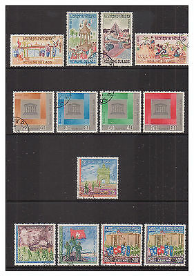 Laos - 13 issues - f/u - 1966/8
