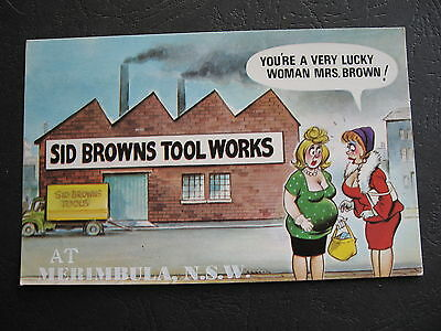Sid Browns Tool Works LUCKY MRS BROWN