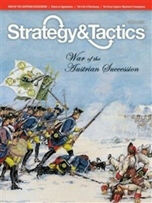 Strategy & Tactics 289 - War Of The Austrian Succession - Mint And Unpunched