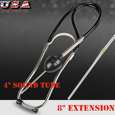 Auto Mechanics Stethoscope Car Engine Hearing Device Pinpoint Diagnostic Tool