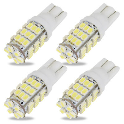4x T10 W5W LED Wedge Car Light Bulb 194 168 For Auto Car Interior Light Parking