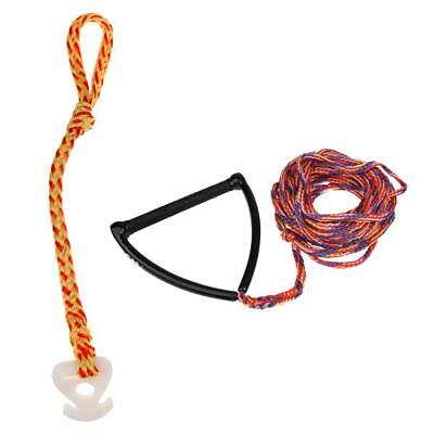 Performance 75' Water Ski Rope Wakeboard Line + Towable Tube Rope Connector