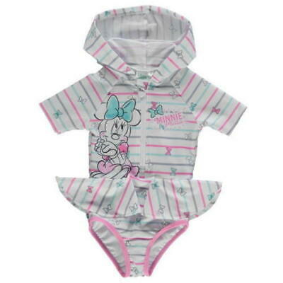 Disney Baby Boys Girls Hooded Swimsuit Swimming Swim Costume Swimwear Holiday