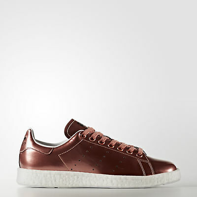 New adidas Originals Stan Smith Boost Shoes BB0107 Brown Sneakers