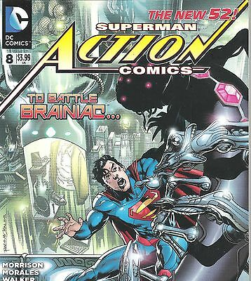 Action Comics #8 DC comics The New 52 superman NM