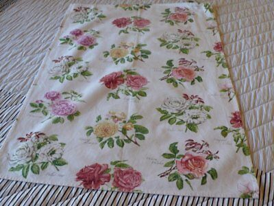 Portmeirion Teatowel With Roses 100% Cotton