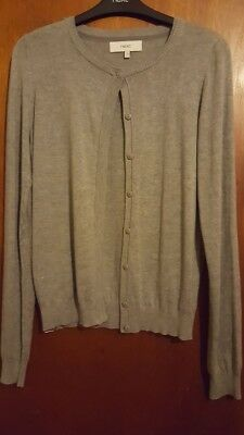 Next grey cardigan size 6 NEW