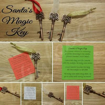 Santa Magic Key Christmas Stocking Filler