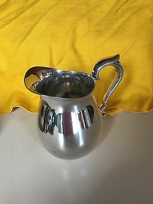Vintage  Reed & Barton Silverplate Silver Water Tea Pitcher Reed Barton 969